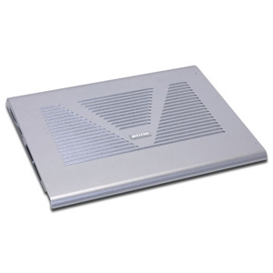 Inland Aluminum Notebook Cooling Fan Pad
