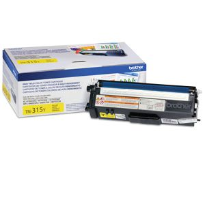 Brother TN315Y Yellow Toner (approx. 3.5K pages)