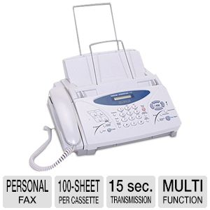 Brother - IntelliFAX-775 - Personal Fax/Phone/Copy