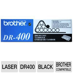 Brother DR400 Black Drum 20K Duty Cycle