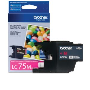 Brother LC75M High-Yield (XL Series) Magenta Ink