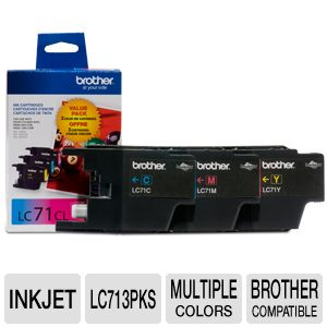 Brother  3 Pack Ink Cartridge