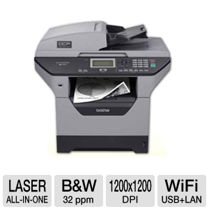 Brother MFC8890DW WiFi Mono Laser Multifunction