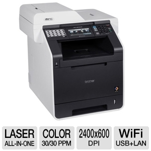 Brother MFC9970CDW WiFi Color Laser Multifunction