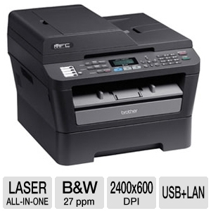 Brother MFC7460DN All-in-One Laser B&W Printer