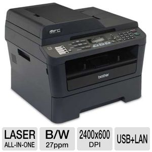 Brother MFC7860DW WiFi Mono Laser Multifunction