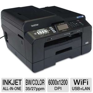 Brother MFCJ6910DW WiFi All-in-One Printer