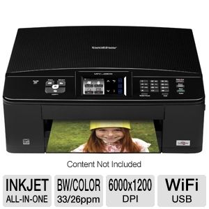 Brother MFCJ280W WiFi All-in-One Printer