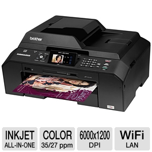 Brother MFCJ5910DW WiFi All-in-One Printer