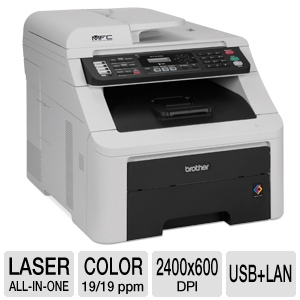 Brother MFC-9125CN Digital Color Multifunction