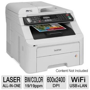 Brother MFC9325CW WiFi Digital Color Multifunction