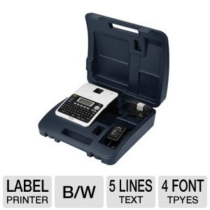 Brother PT-2030VP Label maker And Carrying Case