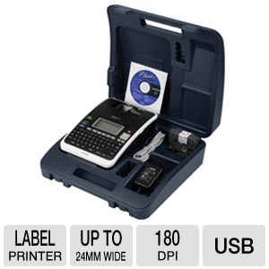 Brother PT-2730VP Label Maker w/ carrying case