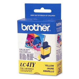 Brother� LC41Y Yellow Ink Cartridge