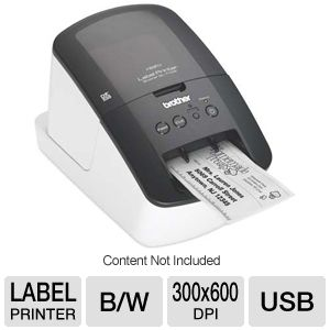 Brother QL710W WiFi Mono Label Printer 93 LPM