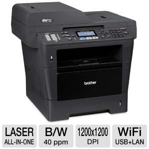 Brother MFC8710DW WiFi Mono Laser Multifunction