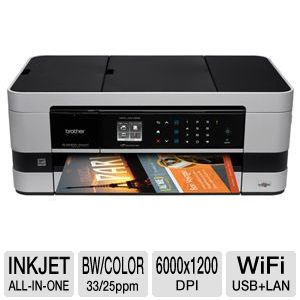 Brother WiFi All-in-One Printer - MFCJ4410DW