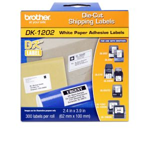 Brother DK1202 QL500/550 Shipping Labels