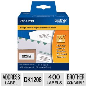 Brother Large Address Label