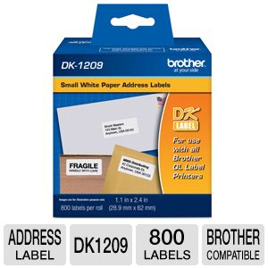 Brother Small Address Labels