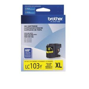 Brother LC103YS Ink Cartridges - YELLOW