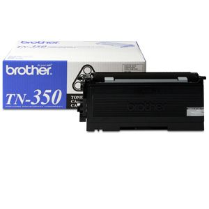 Brother TN-350 Black Toner (approx. 2,500 pages)
