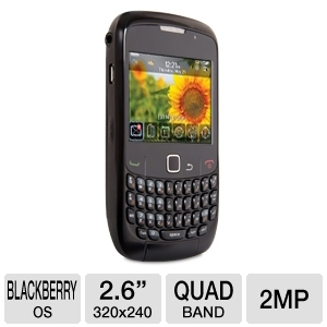 Blackberry Curve 8520 Unlocked GSM Cell Pho REFURB