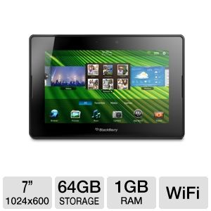 BlackBerry PlayBook 64GB Tablet