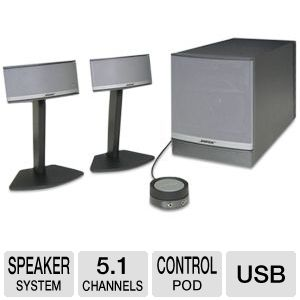 Bose� Companion� 5 Multimedia Speaker System