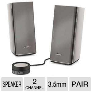 Bose� Companion� 20 Multimedia Speaker System