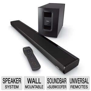 Bose� CineMate 1 SR  Home Theater  Speaker System