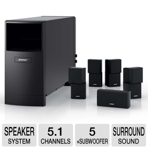 Bose Acoustimass 10 Series IV Speaker System