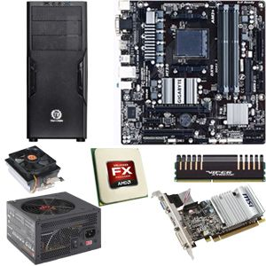 AMD FX-4150 CPU/MSI 760MB/8GB/1GB VGA/500W/CS