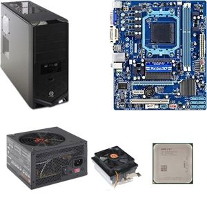AMD FX-6100 OEM CPU/GB 760 MB/Cooler/500W/CS