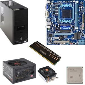 AMD FX-6100 OEM/Cooler/GB 760G/4GB/500W/CS