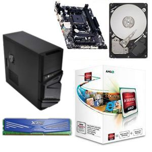 AMD A4-4000/GB A55/4GB DDR3/500GB HDD/550W/CS