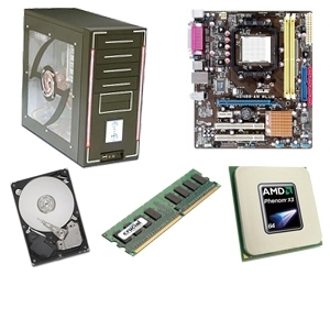 Asus M2N68-AM PLUS PowerUp Barebones Kit