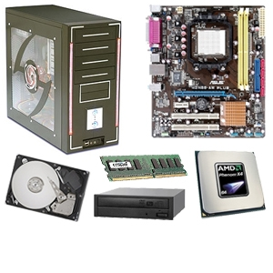 Asus M2N68-AM PLUS GeForce Barebones Kit