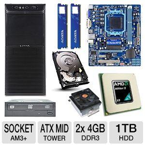GIGABYTE GA-78LMT-S2P Ultra Barebones Kit