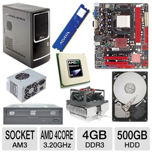 BIOSTAR A780L3G AMD 780L Socket AM3 Motherb Bundle