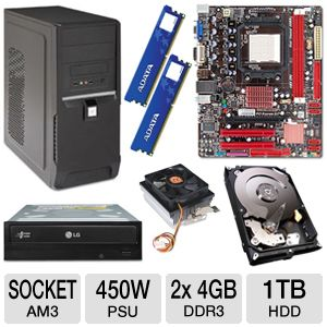 BIOSTAR A780L3B AMD 780L Socket AM3 Motherb Bundle