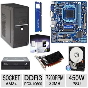 GIGABYTE GA-78LMT-S2P AMD 760 AM3+ Motherbo Bundle