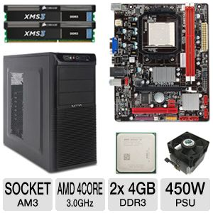 BIOSTAR A780L3B QUAD-CORE Bundle