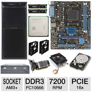 ASUS M5A78L-M LX PLUS AMD Athlon Quad Core Bundle