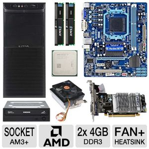 GIGABYTE GA-78LMT-S2P QUAD CORE Bundle