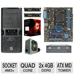 ASUS M5A78L-M LX PLUS AMD FX QUAD CORE Bundle