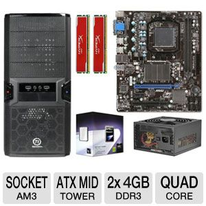 MSI 760GM-P23 (FX) Quad Core Bundle