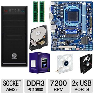 GIGABYTE GA-78LMT-S2P 8GB SIX CORE Bundle