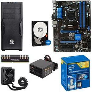 INTEL G3258/MSI Z97/4GB/1TB/COOLER/650W/CS
