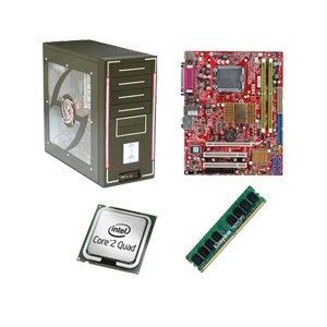 MSI G41M4-F PowerUp Barebones Kit